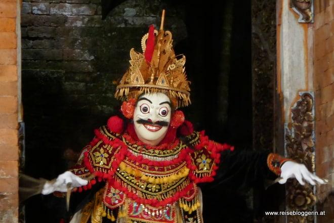Maskentanz auf Bali