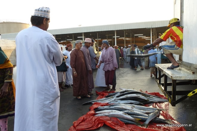 Fischmarkt in Oman