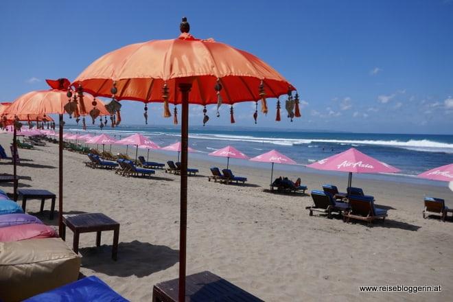 Seminyak Beach auf Bali