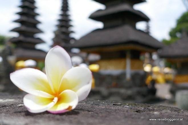 Ein Tempel in Bali