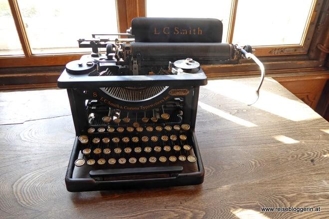 alte schreibmaschine in salzburg