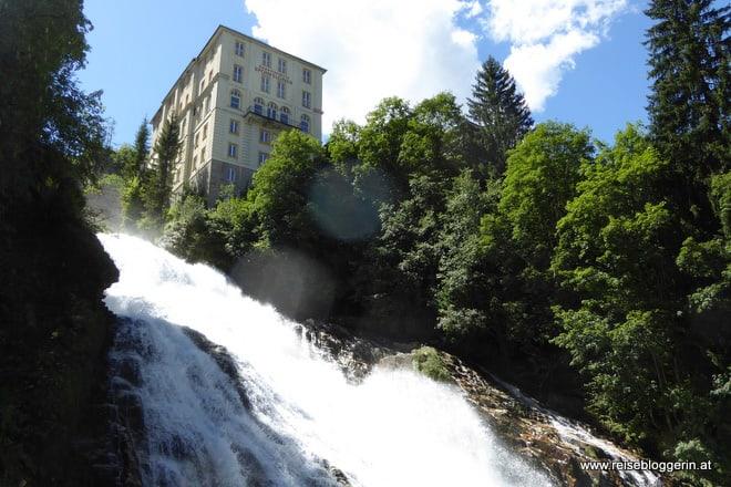 Der Wasserfall in Bad Gastein